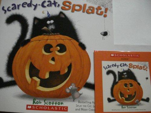 9780545390774: Scaredy-Cat, Splat! Book & Audio CD