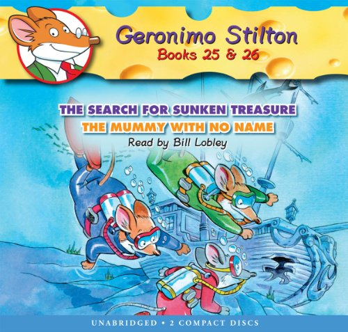 9780545391719: Geronimo Stilton #25-26: The Search for Sunken Treasure / The Mummy With No Name - Audio Library Edition (Geronimo Stilton (2 in 1 Audio))
