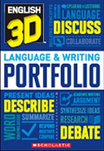 9780545394017: English 3D Language & Writing Portfolio