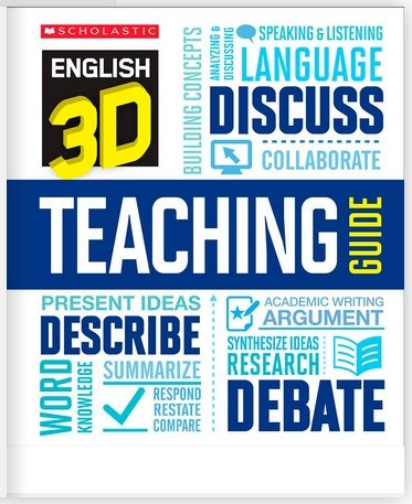 9780545394024: English 3D Teaching Guide
