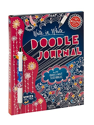 9780545396264: Write in White Doodle Journal: My Brilliant Scribbles