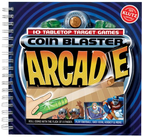 Coin Blasters: An Arcade Inside a Book (