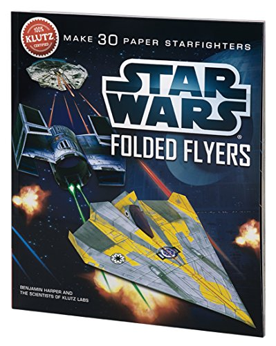 9780545396349: Star Wars Folded Flyers: Make 30 Paper Starfighters
