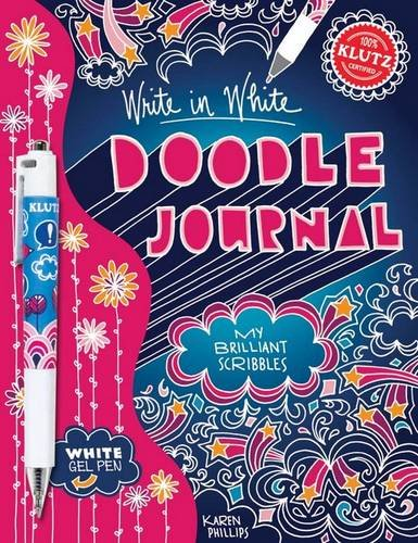 9780545396479: Doodle Journal Write in White