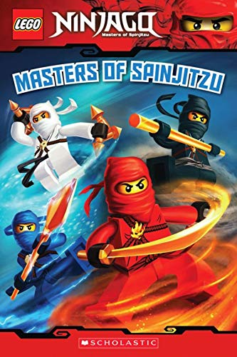 9780545401142: Masters of Spinjitzu (LEGO Ninjago: Reader)