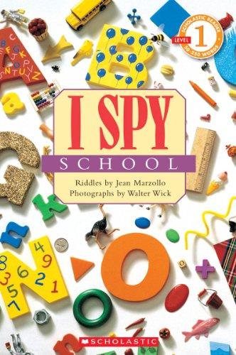 9780545402811: Scholastic Reader Level 1: I Spy School
