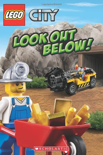 9780545415552: Lego City: Look Out Below! (Scholastic Readers: Lego)