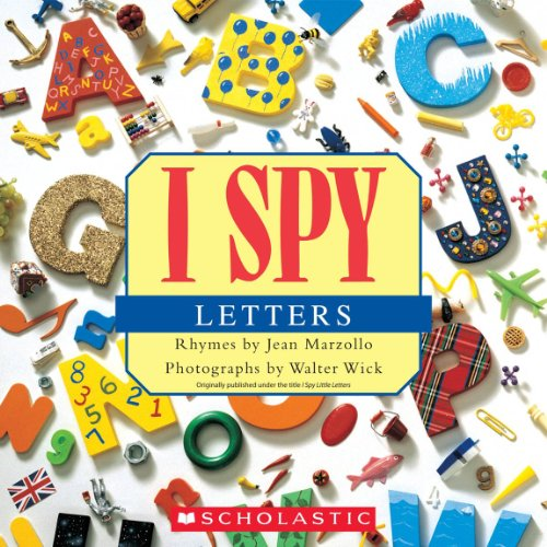 9780545415842: I Spy Letters