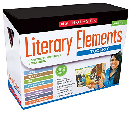9780545416320: Literary Elements Toolkit