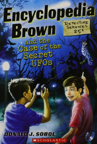 9780545417105: Encyclopedia Brown and the Case of the Secret UFOs