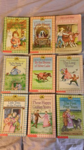 9780545422734: Little House on the Prairie (Set of 9 Books, No Box)