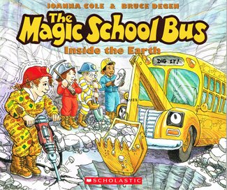 9780545425445: The Magic School Bus Inside the Earth
