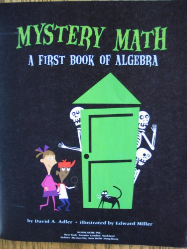 9780545427609: Mystery Math: A First Book of Algebra