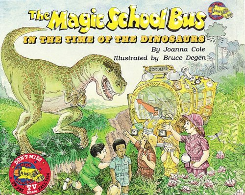 9780545434157: The Magic School Bus in the Time of Dinosaurs - Audio