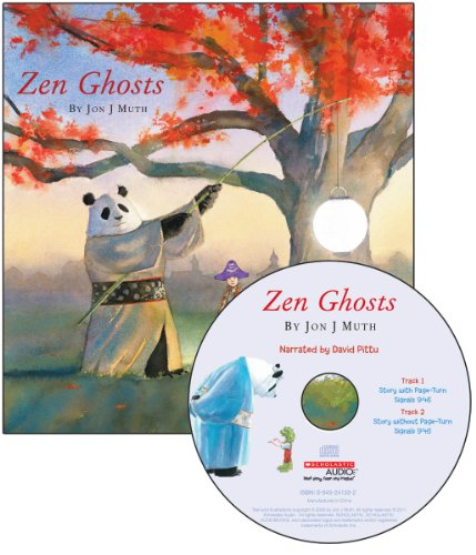 9780545434287: Zen Ghosts [With Paperback Book] (Read Along Book & CD)