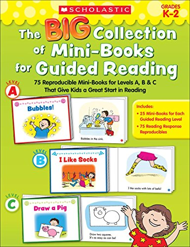 9780545435215: The Big Collection of Mini-Books for Guided Reading: 75 Reproducible Mini-Books for Levels A, B & C That Give Kids a Great Start in Reading