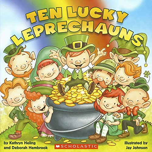 9780545436489: Ten Lucky Leprechauns
