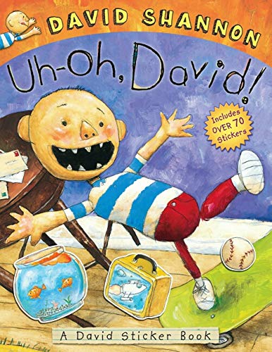 Uh-oh, David! Sticker Book (0545437687) by David Shannon