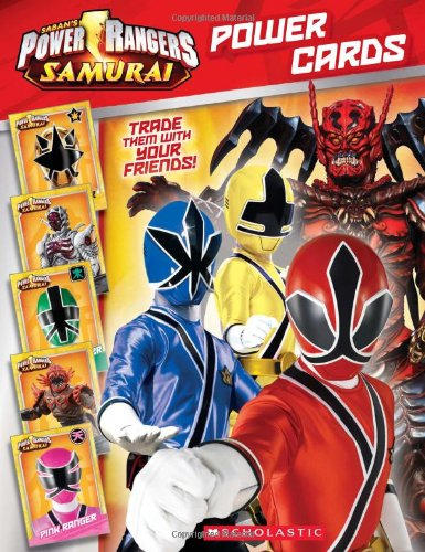 9780545438940: Power Rangers Samurai Power Cards