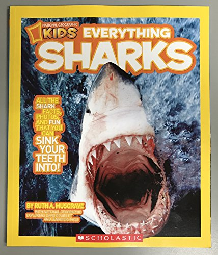 9780545442565: National Geographic Kids - Everything Sharks
