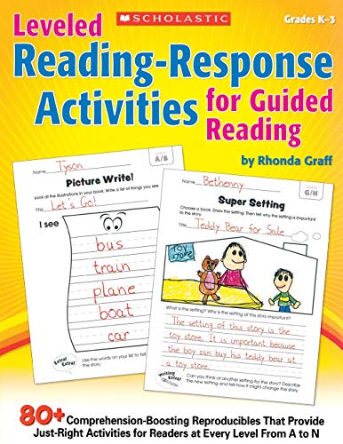 9780545442718: Leveled Reading-Response Activities for Guided Reading: 80+ Comprehension-Boosting Reproducibles That Provide Just-Right Activities for Readers at Eve