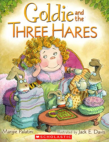 9780545446839: Goldie and the Three Hares
