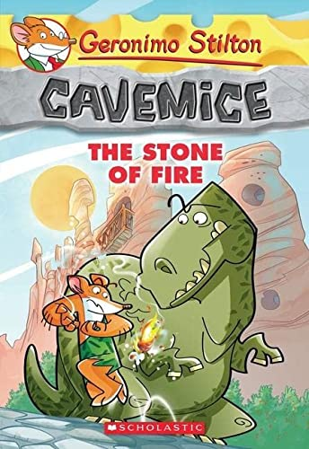 9780545447744: The Stone of Fire (Geronimo Stilton Cavemice)