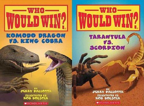 9780545449700: Who Would Win? Komodo Dragon Vs King Cobra and Who Would Win? Tarantula Vs Scorpion (2 Book Set) (Who Would Win?)