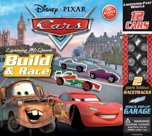 9780545450478: Lightning McQueen Build & Race (Disney Pixar Cars)