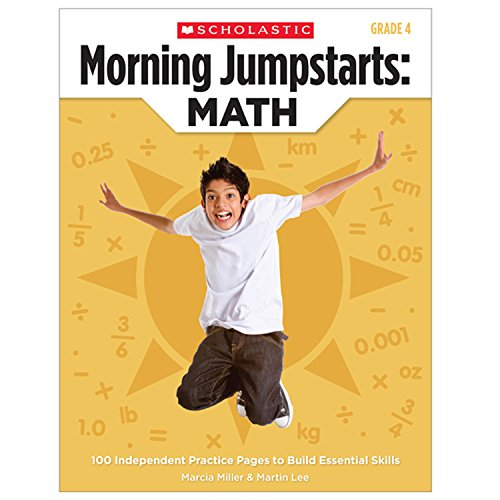 9780545464178: Morning Jumpstarts : Math, Grade 4: 100 Independent Practice Pages to Build Essential Skills