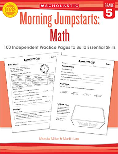 9780545464185: Math (Grade 5): 100 Independent Practice Pages to Build Essential Skills