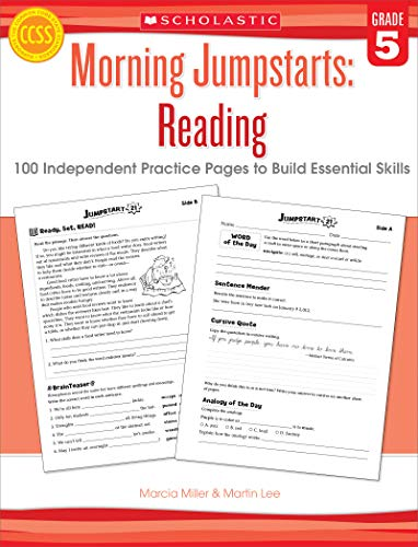 9780545464246: Morning Jumpstarts: Reading (Grade 5): 100 Independent Practice Pages to Build Essential Skills