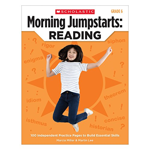 9780545464253: Morning Jumpstarts: Reading (Grade 6): 100 Independent Practice Pages to Build Essential Skills