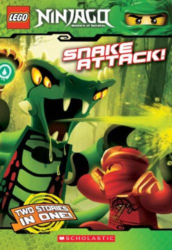 9780545465182: Snake Attack! (LEGO Ninjago: Chapter Book)