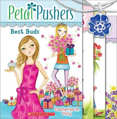 9780545468145: Petal Pushers #1: Too Many Blooms; Petal Pushers #2: Flower Feud; Petal Pushers #3: Best Buds; Petal Pushers #4: Coming up Roses (Petal Pushers, 4 Book Set)