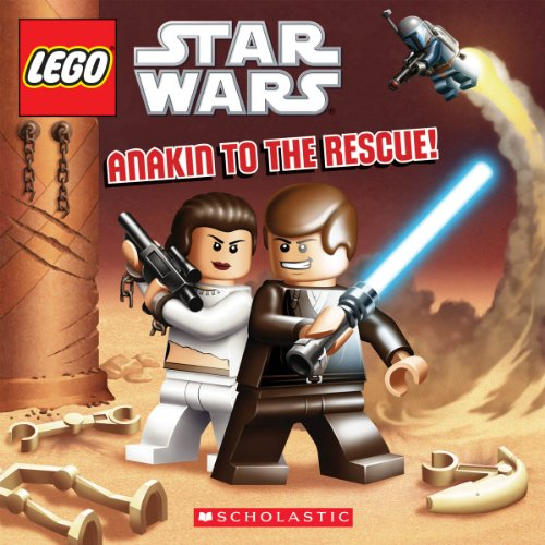 9780545470667: Lego Star Wars Anakin to the Rescue: 8x8 #2
