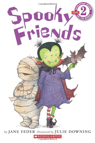 9780545478168: Spooky Friends (Scholastic Readers)