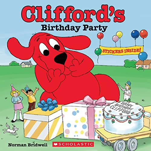 9780545479561: Clifford's Birthday Party (50th Anniversary Edition)