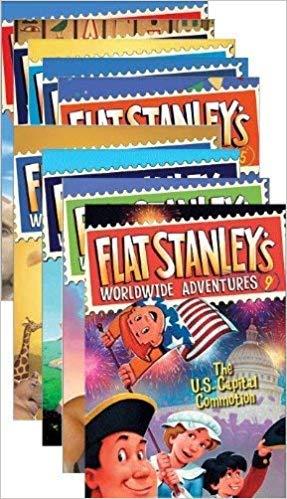 9780545480727: Flat Stanley's Worldwide Adventures, Books 1-9