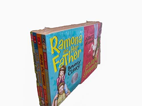 9780545483254: Beverly Cleary 8 book Ramona set: Beezus and Ramona, Ramona the Pest, Ramona the Brave, Ramona and Her Father, Ramona and Her Mother, Ramona Quimby Age 8, Ramona Forever, Ramona's World