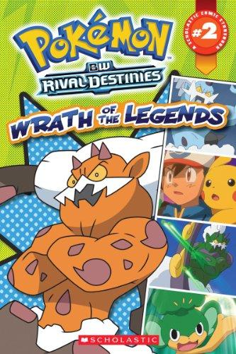 9780545483780: Pokemon Comic Reader #2: Wrath of the Legends (Pokémon Comic Readers)