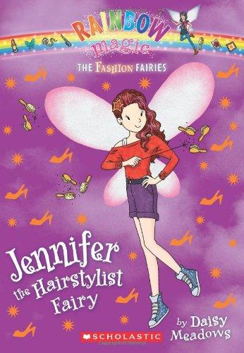 9780545484886: The Fashion Fairies #5: Jennifer the Hairstylist Fairy: A Rainbow Magic Book