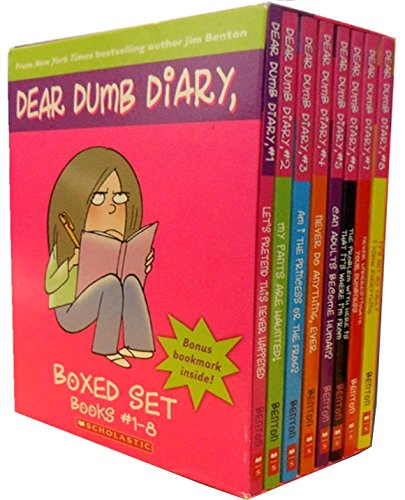 9780545485517: Dear Dumb Diary Box Set. Books 1-8