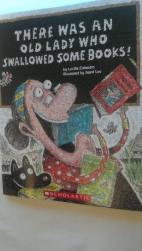 9780545491082: There Was an Old Lady Who Swallowed Some Boks by Lucille Colandro (2012-01-01)