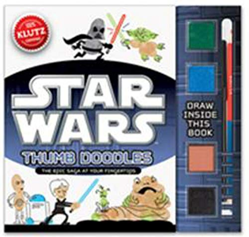 9780545492843: Star Wars® Thumb Doodles: The Epic Saga at Your Fingertips