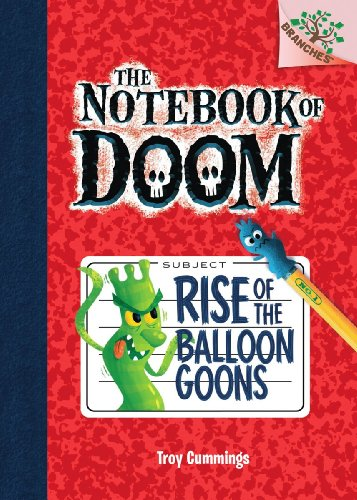 9780545493222: Rise of the Balloon Goons: A Branches Book (The Notebook of Doom #1)