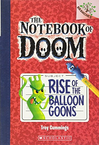 9780545493239: Rise of the Balloon Goons: A Branches Book (The Notebook of Doom #1)