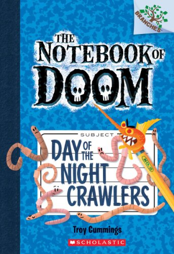9780545493246: Day of the Night Crawlers: A Branches Book (The Notebook of Doom #2)