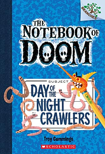 9780545493253: Day of the Night Crawlers: A Branches Book (The Notebook of Doom #2)