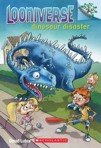 9780545496056: Looniverse #3: Dinosaur Disaster (a Branches Book) - Library Edition (Looniverse. Scholastic Branches)